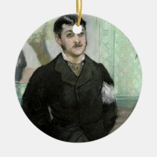 Manet | Porträt von M. Gauthier-Lathuille Keramik Ornament