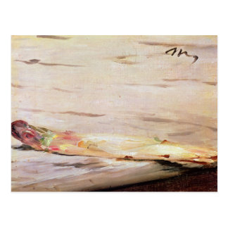 Manet   Spargel, 1880 Postkarte