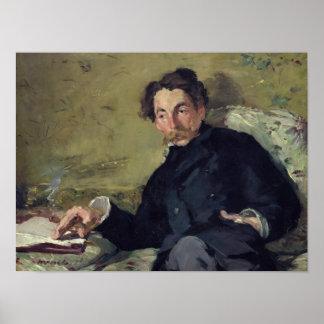 Manet | Stephane Mallarme 1876 Poster