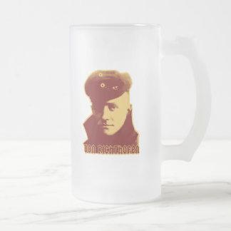 Manfred Von Richthofen Mattglas Bierglas