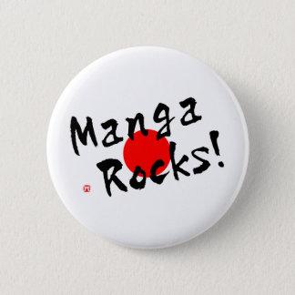 Manga Felsen! Runder Button 5,7 Cm