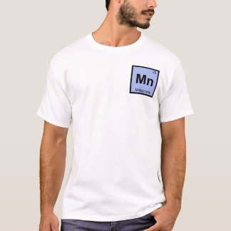 Mangan - Melpomene Muse Chemie-Periodensystem T-Shirt
