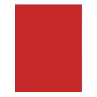MANGO (eine reiche rot-orange fruchtige Farbe) ~ Postkarte