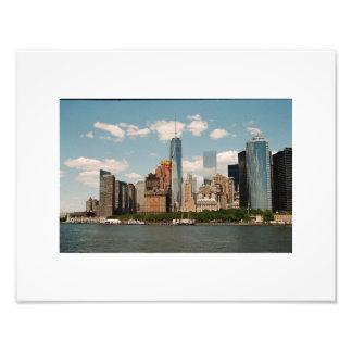 Manhattan-Ansicht Fotodruck
