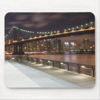 Manhattan-Brücke und NYC Skyline Mousepad