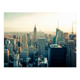 Manhattan-Foto Postkarte