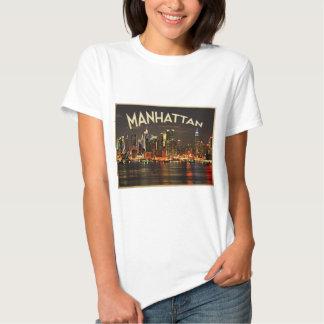 Manhattan-NachtSkyline Shirts