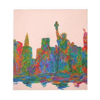 Manhattan-Schönheit Notizblock