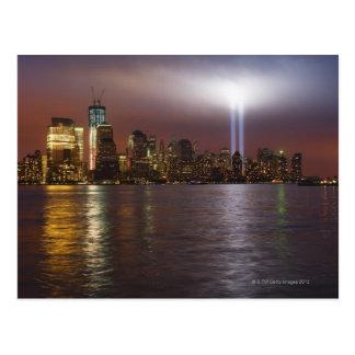 Manhattan-Skyline 2 Postkarten