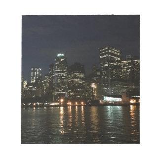 Manhattan-Skyline Notizblock