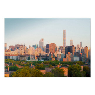 Manhattan-Skyline Poster
