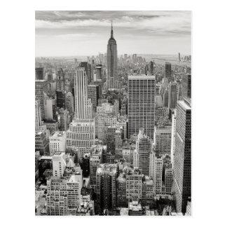 Manhattan von oben postkarte