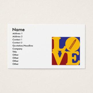 Maniküre-Liebe Visitenkarte