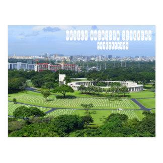 Manila-Amerikaner-Friedhof Postkarte
