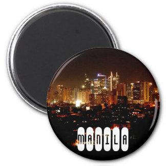Manila in Philippinen Runder Magnet 5,7 Cm