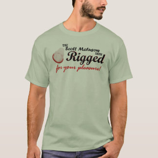 Manipulierte Vergnügens-Farbe T-Shirt