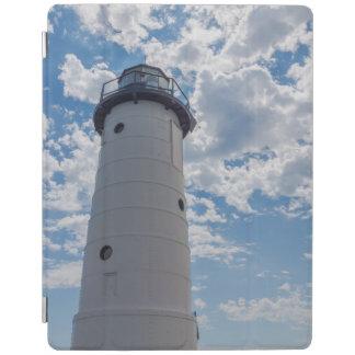 Manistee Leuchtturm oben schauen iPad Hülle