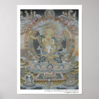 Manjushri Plakat