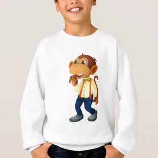 Mann ähnlicher Affe Sweatshirt