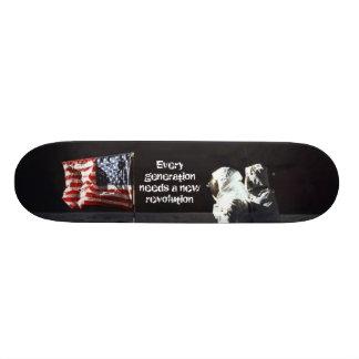 Mann auf dem Mond Individuelle Skateboards