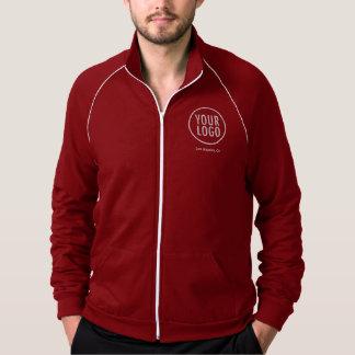 Mann-Bahn-Jacke mit Firmenlogo kein Minimum Jacke