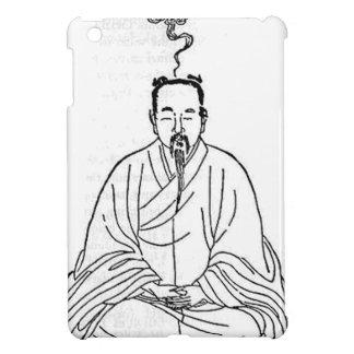 Mann, der in der Meditations-Pose sitzt iPad Mini Hülle