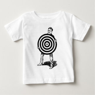 Mann, der Ziel hält Baby T-shirt