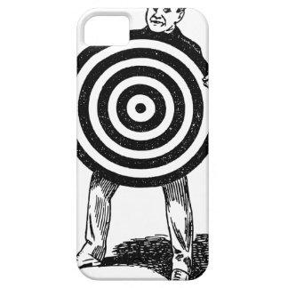 Mann, der Ziel hält iPhone 5 Schutzhüllen