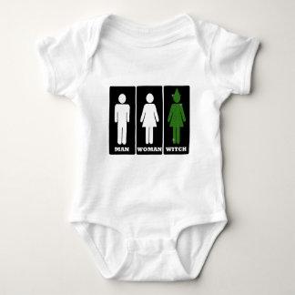 Mann, Frau, Hexe, Dorothy Baby Strampler