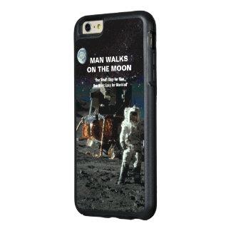 Mann geht auf den Mond-Astronauten und die Erde OtterBox iPhone 6/6s Plus Hülle