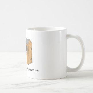 Mann-Höhle - die Halle Kaffeetasse