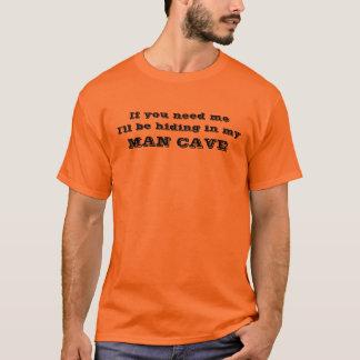 Mann-Höhle T-Shirt