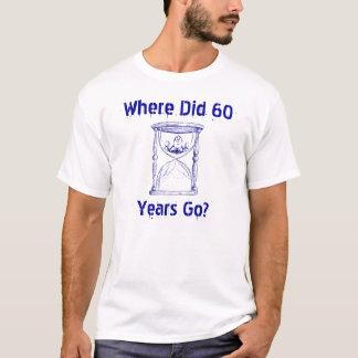 Mann im Hourglass Sandglass, wie es sich heraus T-Shirt