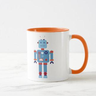 Mann-KinderTasse des retro Roboters Vintage Tasse