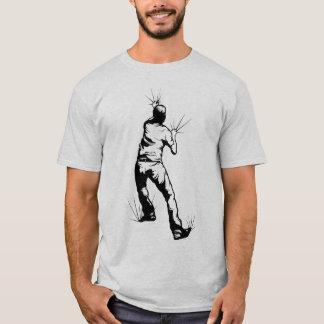 Mann-Klettern T-Shirt