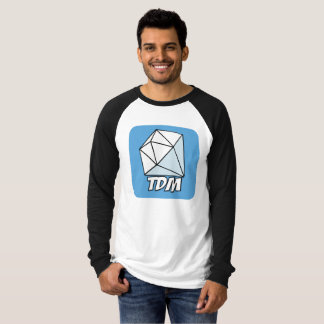 Mann-Leinwand-langer Fanclub für den Diamanten T-Shirt
