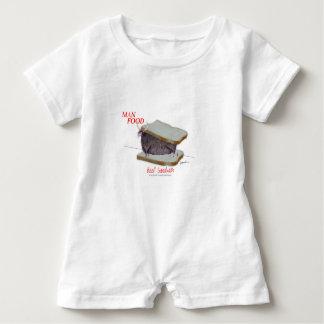 Mann-Nahrung Tonys Fernandess - Baby Strampler