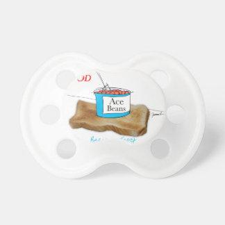 Mann-Nahrung Tonys Fernandess - Bohnen auf Toast Schnuller