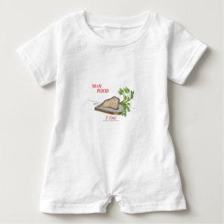 Mann-Nahrung Tonys Fernandess - ein Picknick Baby Strampler