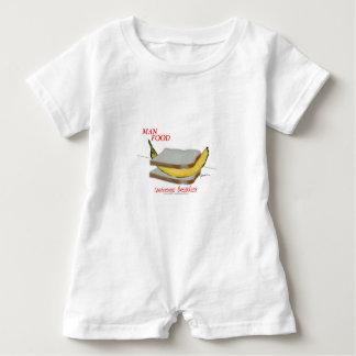 Mann-Nahrung Tonys Fernandess - kontinentales Baby Strampler