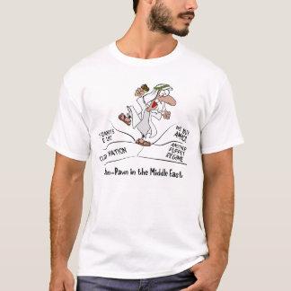 Mann-Pfand-arabische Mittlere Osten-Unruhe T-Shirt