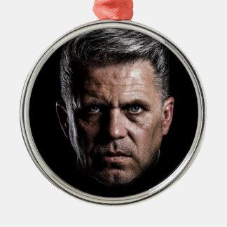 Mann Silbernes Ornament