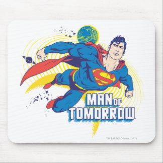 Mann von morgen mousepads