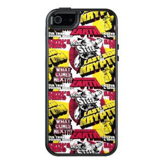 Mann von Stahlrotem und gelb OtterBox iPhone 5/5s/SE Hülle