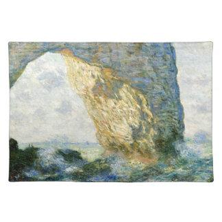 Manneporte, Felsen-Bogen - Étretat (Normandie) - Tischset