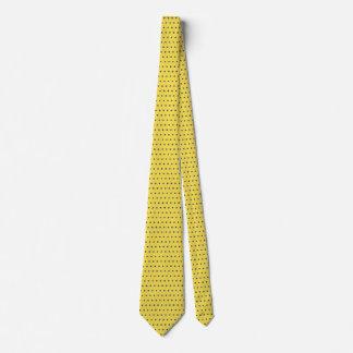 Männer blau und gelbe Krawatte
