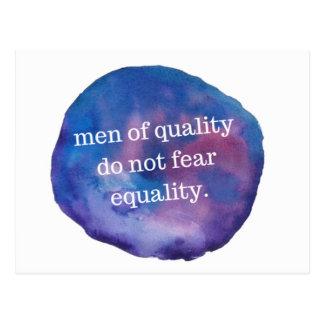 Männer der Qualitäts-Postkarte Postkarte