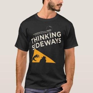 Männer, die seitlich Podcastlogo 2016 denken T-Shirt