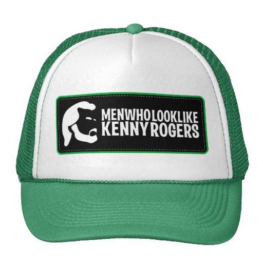 Männer, die wie Kenny Rogers-Fernlastfahrer-Hut au Baseballmützen