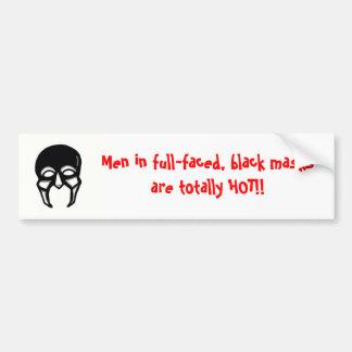 Männer in den schwarzen Masken…. Autoaufkleber